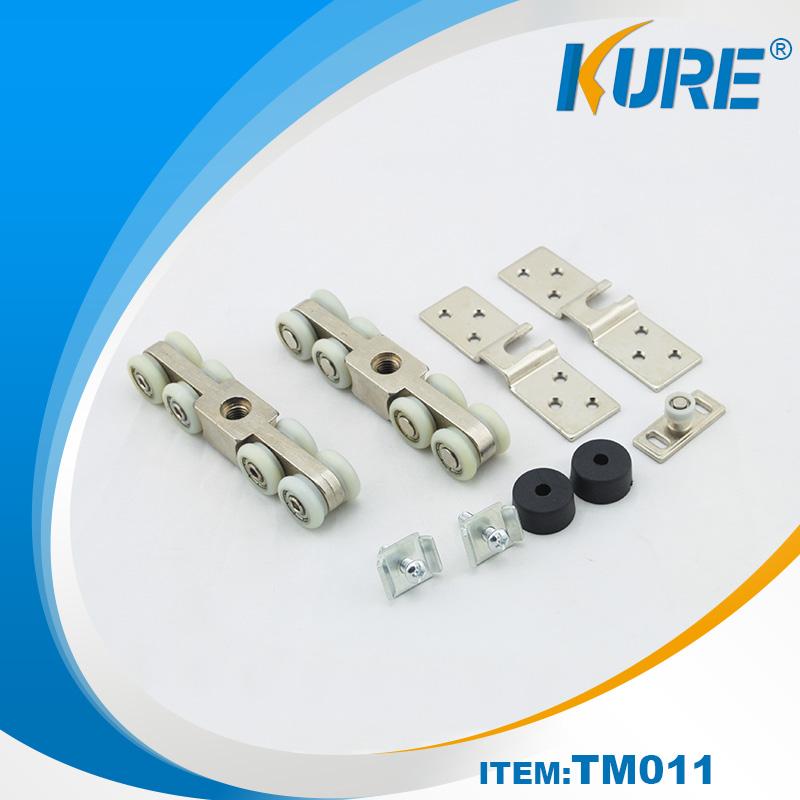 2016 factory price kitchen cabinet and shower sliding door wheels set china shanghai kure hardware - Kitchen sliding door price ...