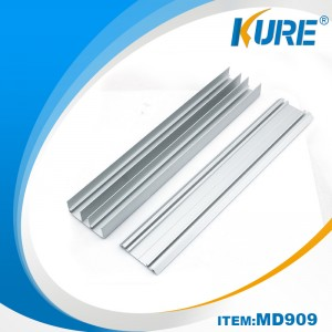Aluminum Door Extruded Profile Accessory kwa Sliding Door