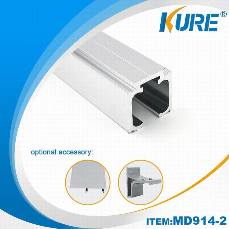 Aluminum mööbel Riistvara Liikuv avaneva uksega Track Soovitatavad Image