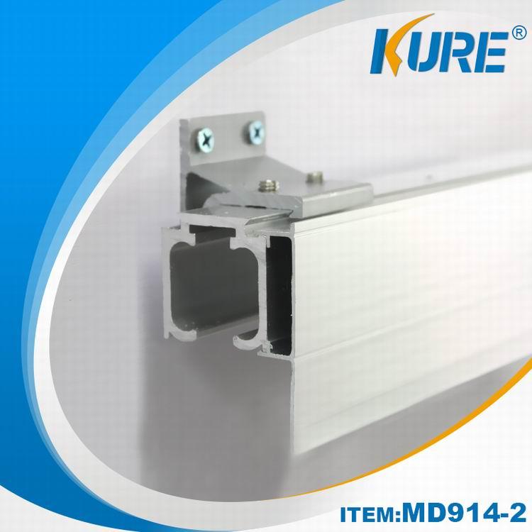 Aluminum Furniture Hardware Sliding Hanging Door Track
