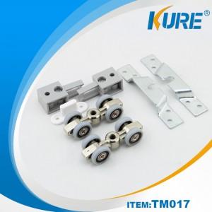 Good loading bearing hanging aluminum door heavy duty sliding door roller