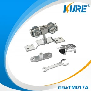 Kure Hanging Sliding Door Hardware Slider Buffer & Hangers Roller Sets