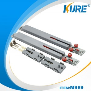 Kure Soft Close Køkken Sliding Door Damper