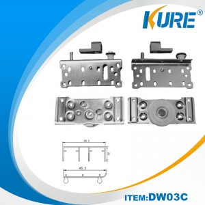 sliding door hardware fittings