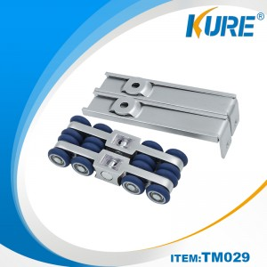Interior ngusapake Hanging Pocket Door Hardware Rollers