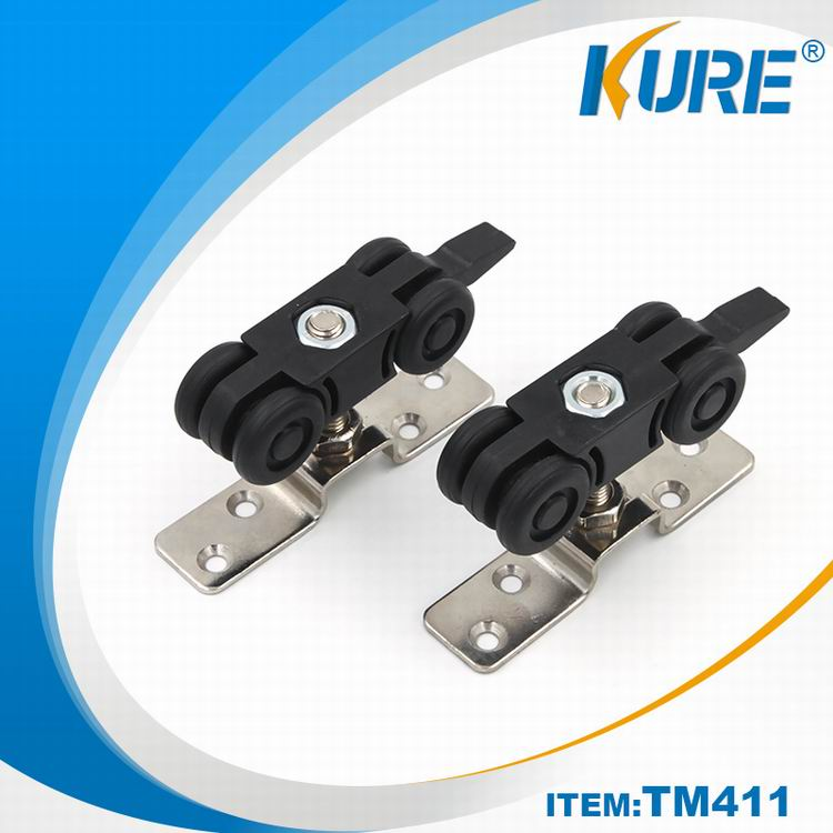 TM411-2 Kure door wheel nylon sliding door roller