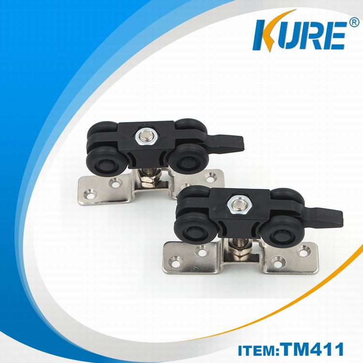 TM411-3 Kure door wheel nylon sliding door roller