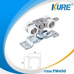 Zinc alloy sliding hanger door roller